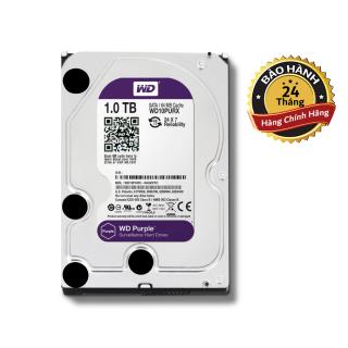 [HCM]Ổ cứng Camera HDD 1TB Western Digital Tím - BH 2 năm - 1 đổi 1 thumbnail