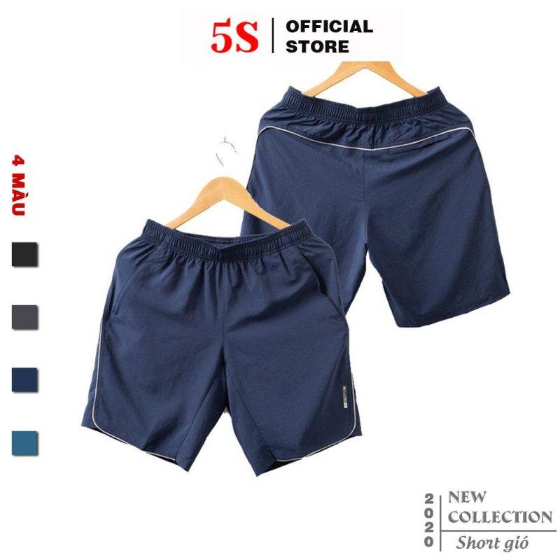 Nơi bán Quần Short Nam 5S (4 màu), Vải Gió Cao Cấp, Mặt Vải Mềm Mịn, Co Giãn Tốt, Thiết Kế Bo Đẹp (QSG001S1-02)