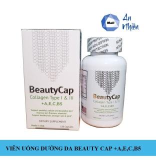 Viên Uống Dưỡng Da BeautyCap Collagen +A,E,C B5 12000mg thumbnail