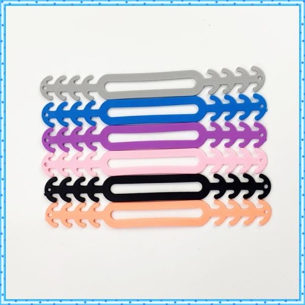 Dây đeo khẩu trang COMBO 3 CÁI Tai giả chống đau tai, điều chỉnh kích cỡ khi đeo khẩu trang loại TỐT MỀM KO HÔI có lỗ cột tóc