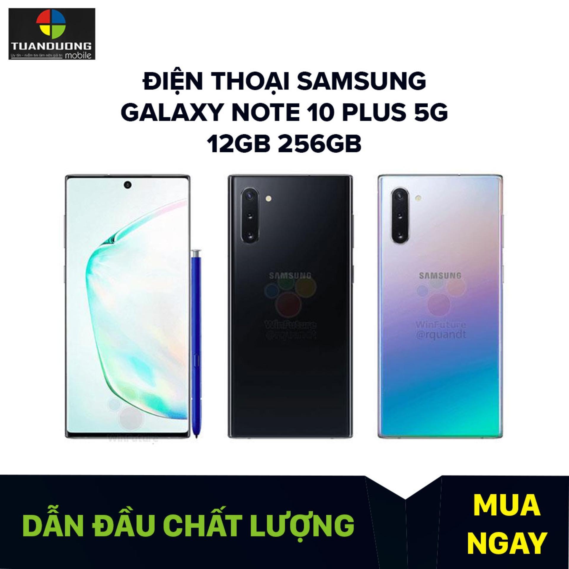 Điện thoại Samsung Galaxy Note 10 Plus 5G 12GB 256GB