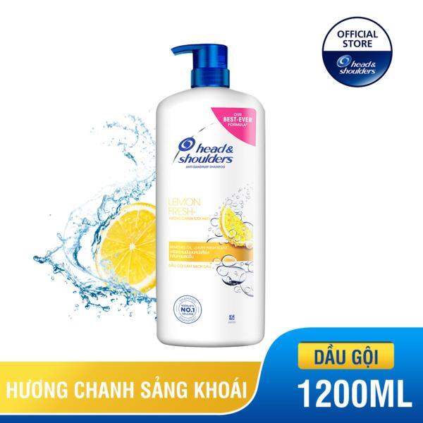 Dầu Gội Head & Shoulders Hương Chanh chai 1200ml