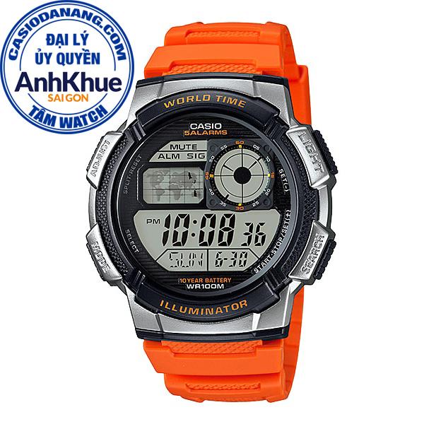 Đồng hồ nam dây nhựa Casio Standard chính hãng Anh Khuê AE-1000W-4BVDF (43mm)