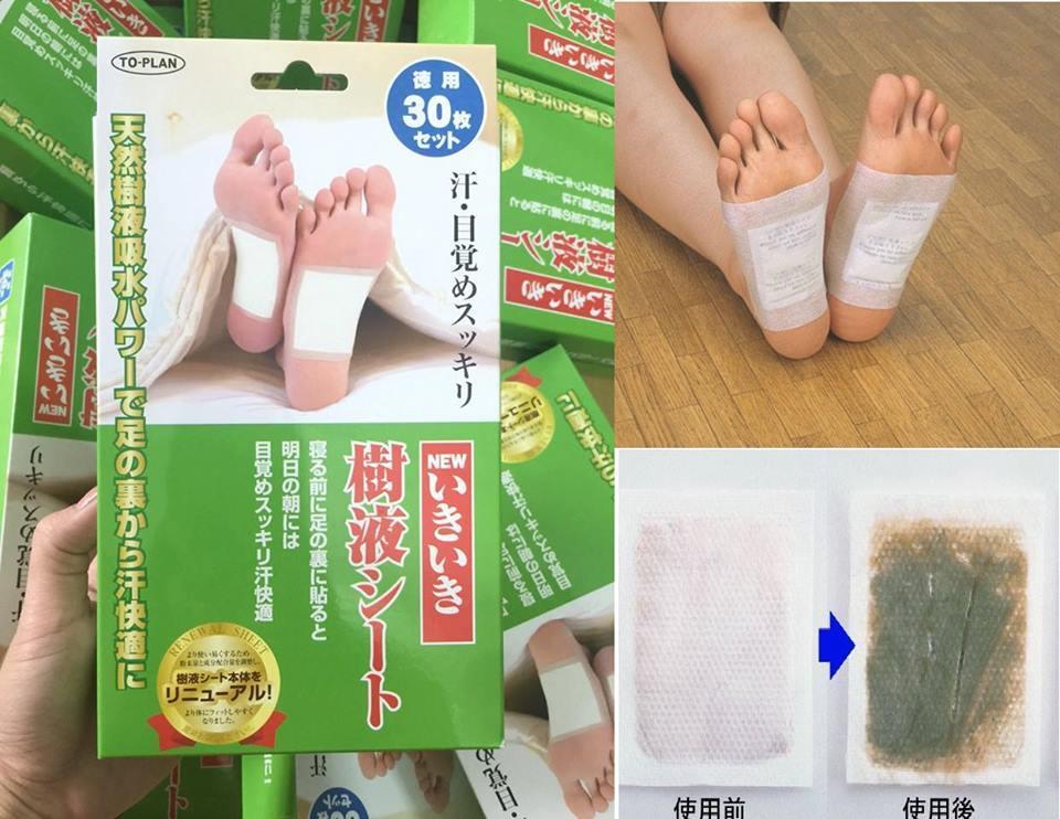 Miếng dán thải độc Kenko Nhật Bản nhập khẩu