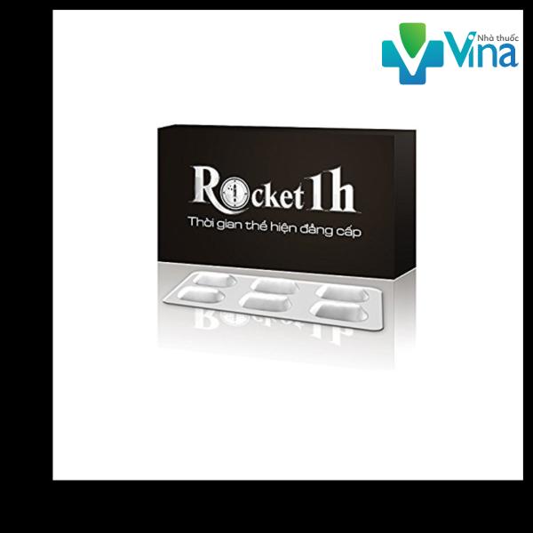Rocket 1h hỗ trợ cải thiện sinh lý nam từ công ty Sao Thái Dương (6 Viên / Hộp)