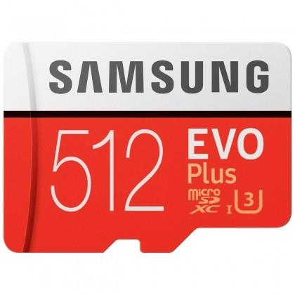 Thẻ nhớ micro SD samsung Evo plus 512GB 100MB/s 4k video (new version)