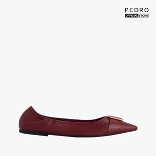 PEDRO - Giày đế bệt nữ mũi nhọn Gold Buckled PW1-66300051-45 thumbnail