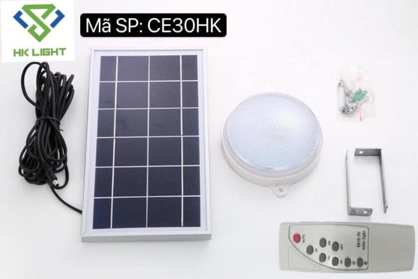 Bảng giá Đèn ốp trần năng lượng mặt trời 30w HK Light