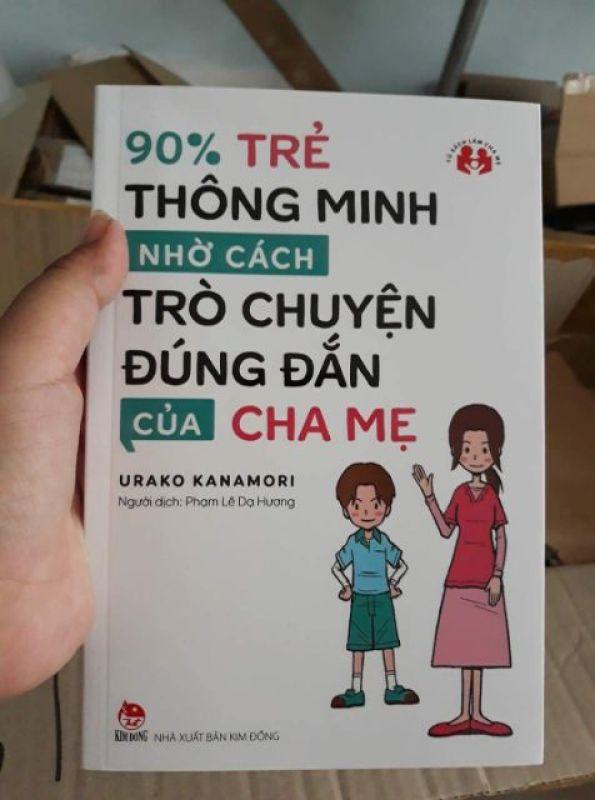 Combo 4q: 90% trẻ thông minh + Phương pháp dạy con không đòn roi + Con nghĩ đi  + Cách khen, mắng phạt con