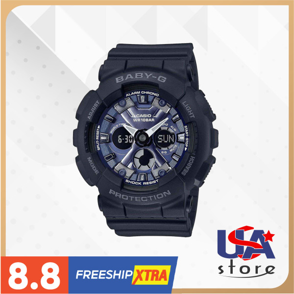[Bình Dương] Đồng hồ nữ Casio Baby-G BA130-1A2 46.3x43.3mm