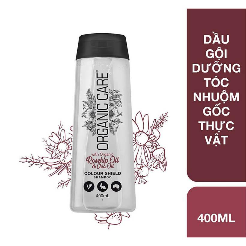Dầu gội dưỡng tóc nhuộm gốc thực vật Organic Care chai 400ml nhập khẩu