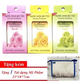 Combo 3 Nước hoa bỏ túi Enchanteur 18ml hộp ( tặng 1 túi mỹ phẩm) thumbnail