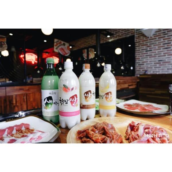 Nước gạo lên men Makgeolli 750ml Hàn Quốc tăng thêm hương vị cho buổi tiệc, sản phẩm chất lượng, đảm bảo an toàn sức khỏe người sử dụng, vui lòng inbox để shop tư vấn thêm
