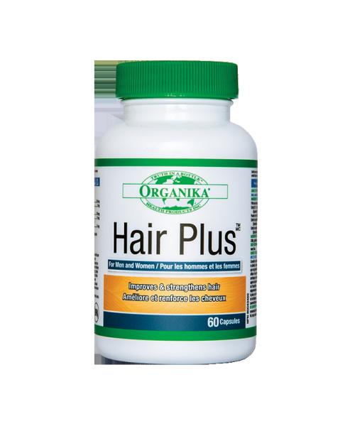 Hộp 60 viên hỗ trợ tóc, mọc tóc, kích thích tóc nhanh dài HAIR PLUS ORGANIKA giá rẻ