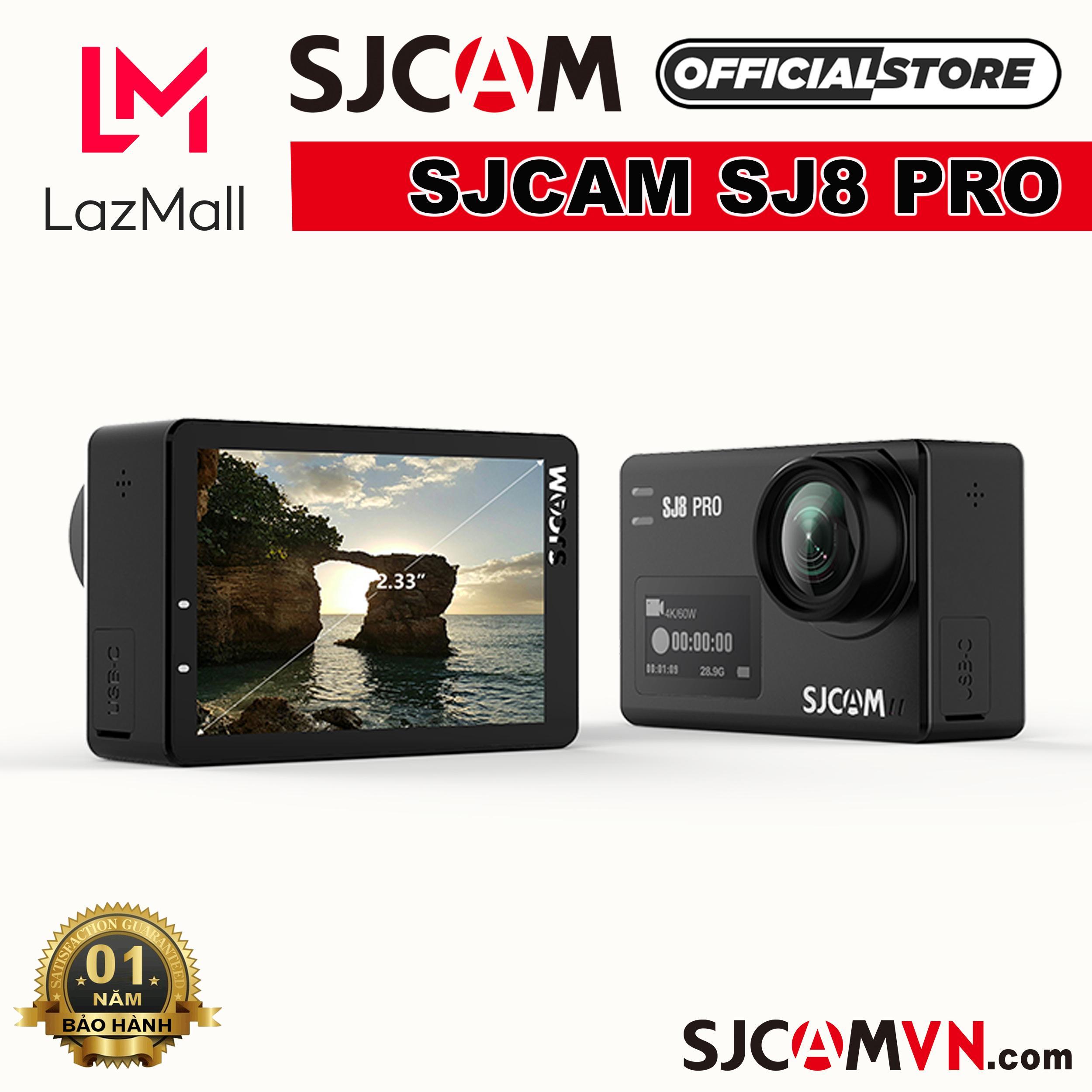 Giá Cực Sốc Khi Mua Camera Hành Trình SJCAM SJ8 PRO 4K WiFi - Hãng Phân Phối Chính Thức