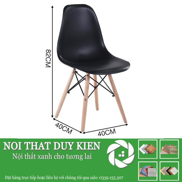 Ghế EAMES chân gỗ Cao Cấp loại 1 -Ghế Cafe - Ghế Văn Phòng - Ghế Học Sinh giá rẻ