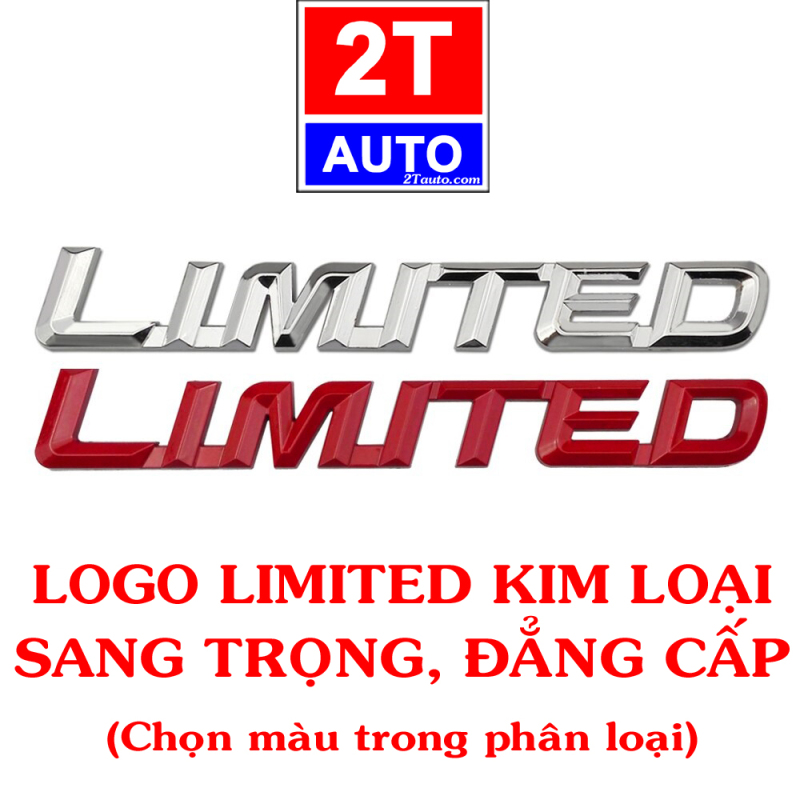 Sticker kim loại dán xe logo kim loại 3D LIMITED EDITION đẳng cấp và sang trọng cho xe hơi ô tô