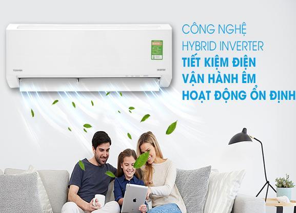 Máy Lạnh TOSHIBA Inverter 1.0 HP RAS-H10D1KCVG-V
