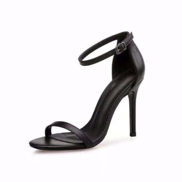 giày cao gót 9 phân ngọc trinh quai mãnh giá rẻ