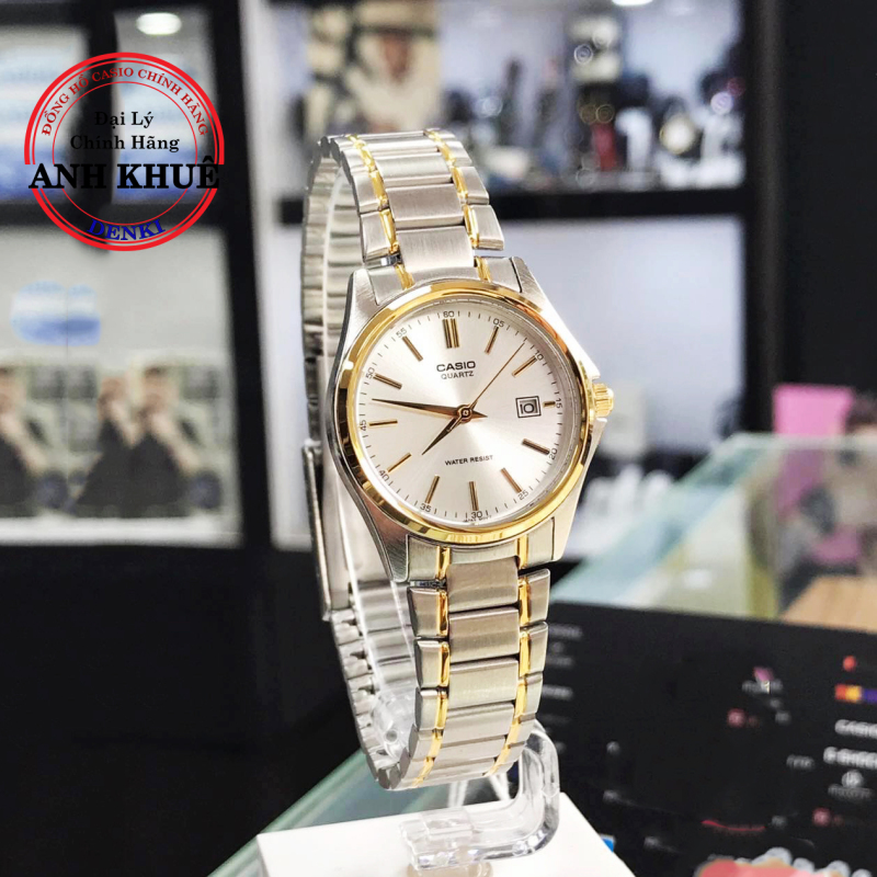 [SALE] Đồng hồ nữ dây kim loại Casio Standard Anh Khuê LTP-1183G-7ADF