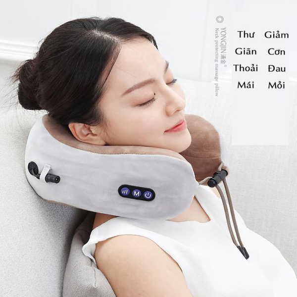 [TOP 3] Gối massage, Gối Mát Xa Hồng Ngoại Nhật Bản Uy Tín , Giúp Xóa Tan Căng Thẳng, Lưu Thông Tuần Hoàn Máu