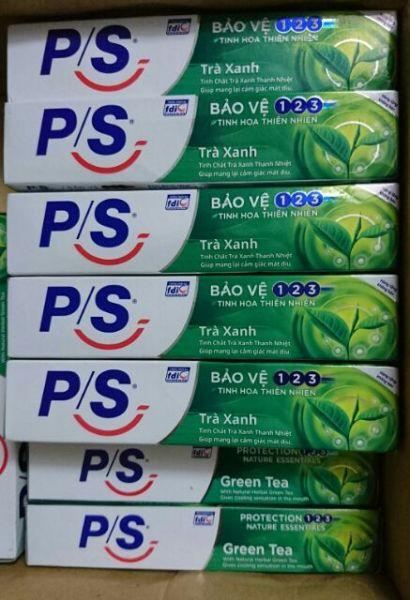 [HCM]10 Tuýp Kem Đánh Răng PS Trà Xanh 30g - Hàng Tặng giá rẻ