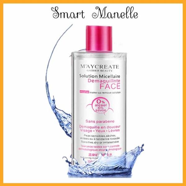Nước tẩy trang Maycreate Nước tẩy trang cho da dầu mụn, sạch sâu, dịu nhẹ 300ml MNTT1