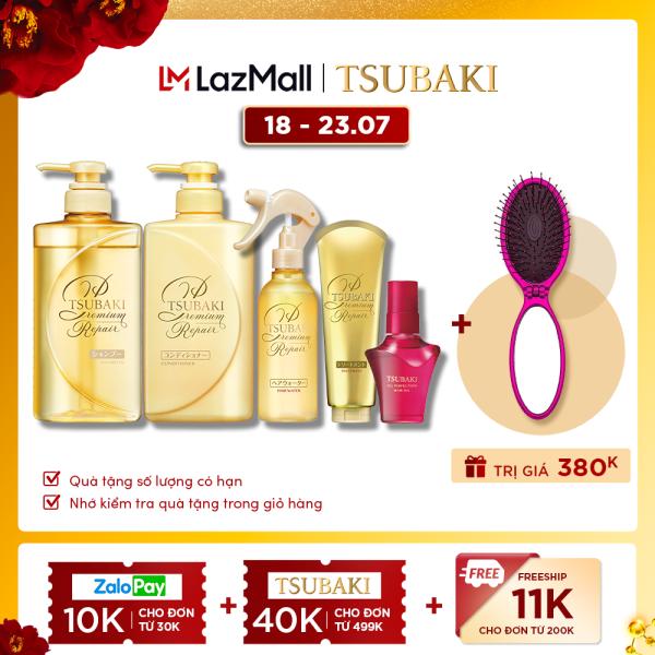 [COMBO TIẾT KIỆM] Bộ sản phẩm Tsubaki Premium Phục Hồi Ngăn Rụng Tóc giá rẻ