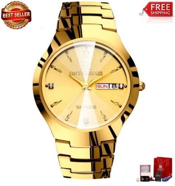 Đồng hồ Ontheedge dây đá mặt kính tráng sapphire RZY01 (fullbox) bán chạy
