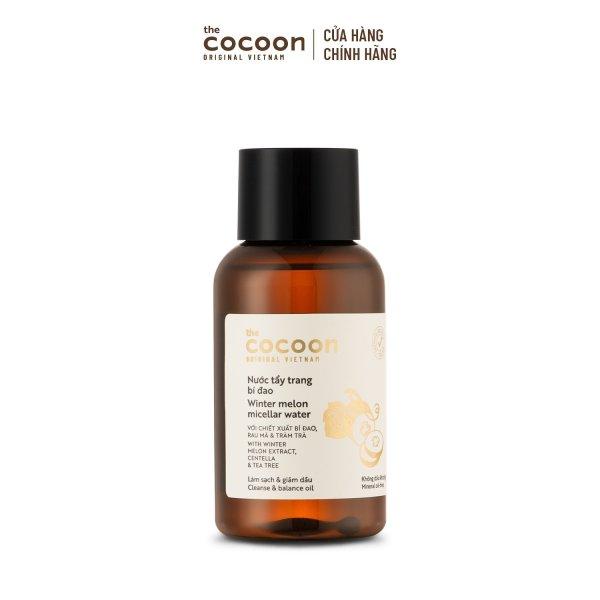 Nước tẩy trang bí đao Cocoon tẩy sạch makeup & giảm dầu 140ml giá rẻ