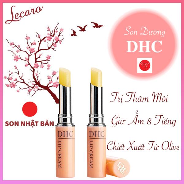 [Hàng Chính Hãng Nhật Bản] Son Dưỡng DHC Lip Cream Giảm Thâm Môi Dưỡng Ẩm Chiết Xuất Từ Olive Giữ Ẩm 8 Tiếng Lecaro giá rẻ