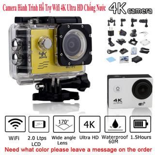 Camera hành trình 4K, Camera Hành Trình 1080 Sports, Camera 4K Ultra HD hành trình xe máy Camera phượt thể thao, Chống Rung Lấy Nét Tự Động, Điều Khiển Từ Xa 30m, BH 1 Đổi 1 trong vòng 12 tháng. thumbnail