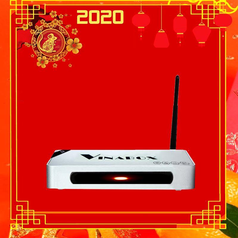Bảng giá Android TV Smart Box Vinabox X6 PRO Ram 2G Model 2020 tặng Tài khoản Vip 3 năm , Điều khiển bằng giọng nói Điện máy Pico