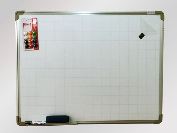 Mua Bảng từ trắng Dongbu Hàn Quốc 40x60 cm Tặng bút lông,bông lau, nam châm