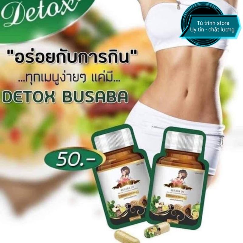 Viên uống giảm cân detox Busaba cao cấp