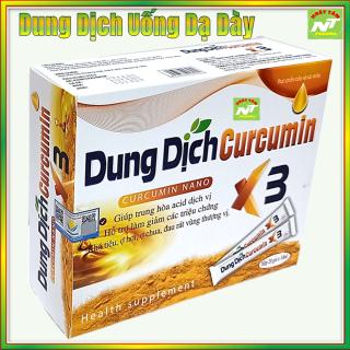 Dung Dịch Curcumin Nano X3 -Hỗ Trợ Giảm Viêm Loét Dạ Dày, Khối U Do Các Gốc Oxy Hóa thumbnail