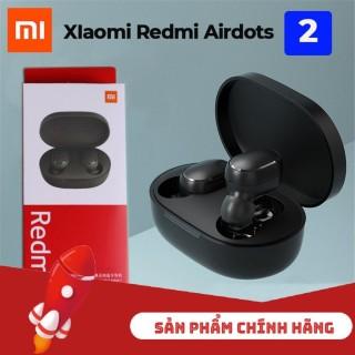 Tai nghe bluetooth Redmi Airdots 2 - Bluetooth 5.0 - tai nghe không dây chống ồnn - Mic Đàm Thoại Chuẩn - Pin 4 Tiếng thumbnail