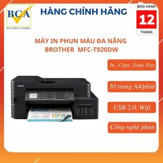 Máy in phun màu đa năng Brother MFC-T920DW (In, Scan, Copy, Fax, Wifi) thumbnail