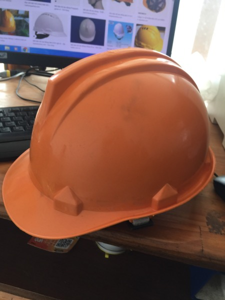 [Combo] 10 cái mũ bảo hộ lao động loại thường (màu cam)