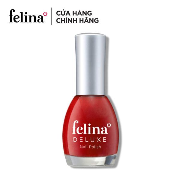 Sơn móng tay Felina deluxe 18ml - màu sắc đa dạng, bảo vệ móng và màu sơn nhờ tính năng chống tia UV, nuôi dưỡng và tái tạo móng với dưỡng chất Keratin, màu sắc đa dạng