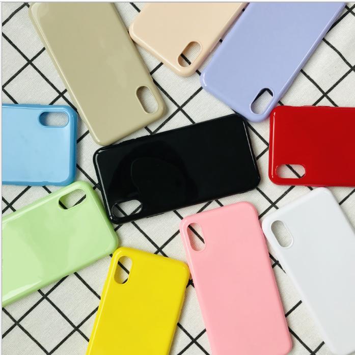 ỐP iPhone TRƠN DẺO 8 MÀU - ỐP