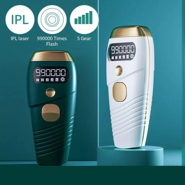 Thiết Bị Tẩy Lông Bằng Laser IPL Nhấp Nháy 990000 Tông Đơ Bikini Vĩnh Viễn Máy Tẩy Lông Toàn Thân Chạy Điện Máy Cạo Lông