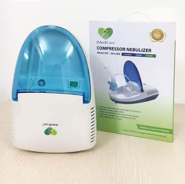 Máy xông khí dung iMediCare INA-09S - Thiết bị y tế Thịnh Anh