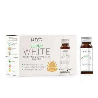 Thực Phẩm Bảo Vệ Sức Khỏe Nucos Super White Whitening & Shining Skin Giúp Sáng Da 50ml x 10 Chai thumbnail