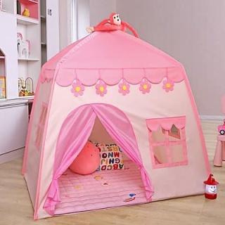 Lâu đài công chúa, hoàng tử cho bé trai và bé gái thỏa sức sáng tạo, vui đùa, Lều cắm trại, du lịch chơi đùa tại nhà cho bé trai và bé gái giúp trẻ em tăng khả năng vận động, cho hệ miễn dịch tốt hơn-Lều công chúa, hoàng tử mẫu mới dành cho bé thumbnail
