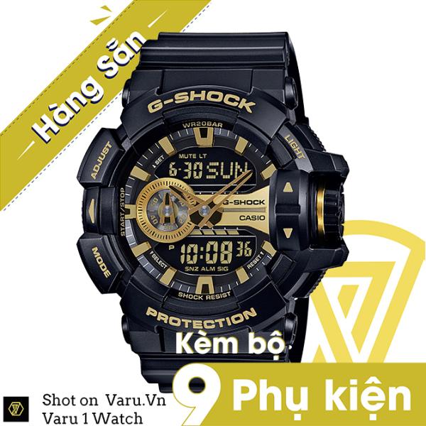 [Cao Cấp] Đồng hồ thể thao nam nữ G-Shock GA-400GB-1A9 Full phụ kiện bán chạy