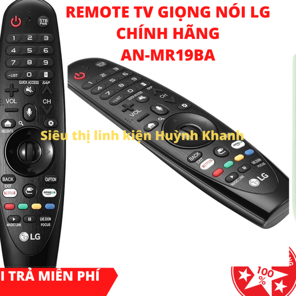 Bảng giá REMOTE TV LG GIỌNG NÓI CHÍNH HÃNG SIÊU BỀN AN-MR19BA