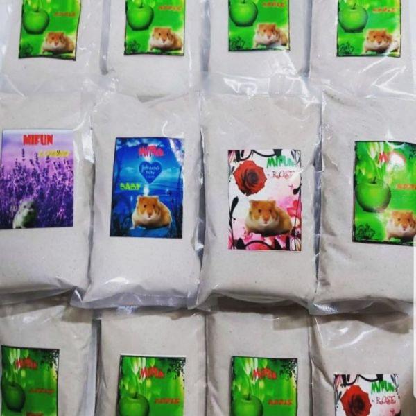 Cát tắm tự nhiên Mifun sản phẩm được khuyên dùng cho Hamster
