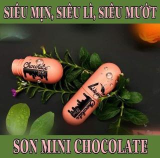 Son Kem Mini Chocolate Athena Siêu Mịn Siêu Lì Siêu Mướt 4,5ml thumbnail