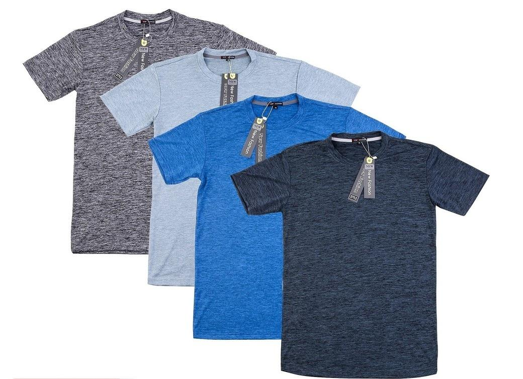 Combo 4 áo thun nam thể thao vải dày mịn, thoáng mát hàng VNXK - vải Đốm ( màu bất kỳ )